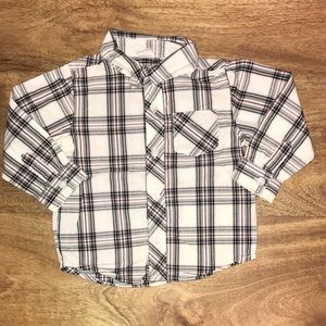 Old Navy button up shirt.